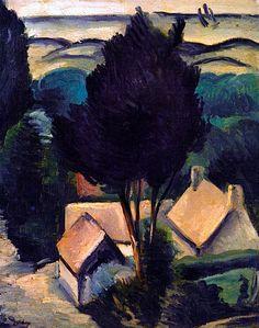 Camiers Landscape / Andre Derain - 1911