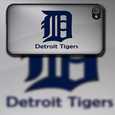 Detroit Tigers w/ Black Rubber iPhone 4 / 4s or by EastCoastDyeSub, $15.00