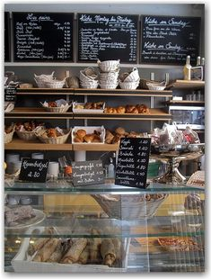 Where I get my breakfast from ;) Café Milchbar, Zürich, Switzerland