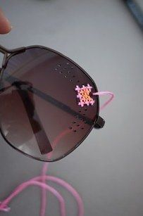 Turn a pair of inexpensive sunglasses into a priceless pair. | 19 Things You Didn't Know You Could Embroider