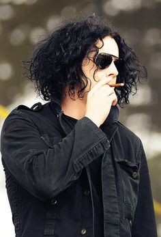 Jack White... I totally thought black was his natural hair color until I saw his roots