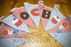 Bunting wot I made :-)
