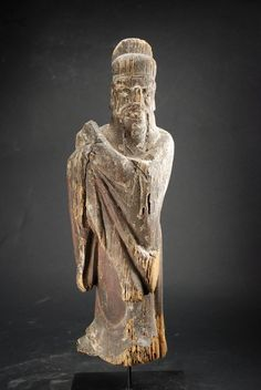 Statue of the Judge of the Souls, China, Early Ming