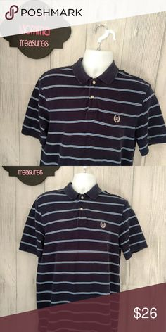 Chaps Mens size medium polo shirt Men's size medium polo by chaps shirt Excellent used condition Blue in color Chaps Shirts Tees - Short Sleeve