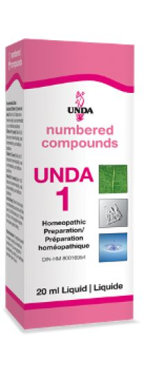 Unda 1 - Liver-Kidney-Gallbladder Detox This remedy is indicated for obstruction of the biliary tract, Winckel's disease, afflictions of the gall bladder and jaundice in the newborn infant.