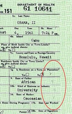 Secret of Obama's phantom numbers on his birth certificate uncovered                        click to read more