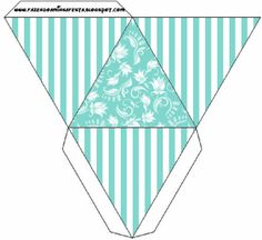 Tiffany´s Party Free Printable Boxes.