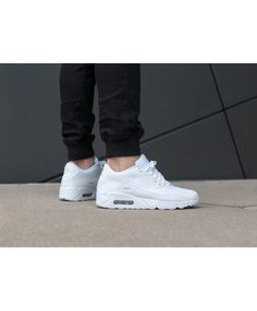 pretty nice c6a57 6e04f Air Max 90 Ultra 2.0 Essential White Pure Platinum Mens Cheap Sale Nike Air  Max Mens