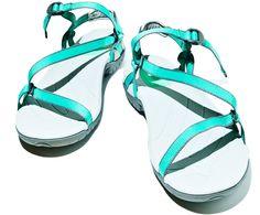 2012's top summer apparel for women: Teva Zirra sandals