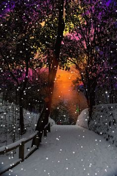 """Photo: """"How many lessons of faith and beauty we should lose, if there were no winter in our year! Winter Szenen, Winter Magic, Beautiful Gif, Beautiful Places, Beautiful Pictures, Beautiful Sunset, Winter Photography, Nature Photography, Snow Scenes"""