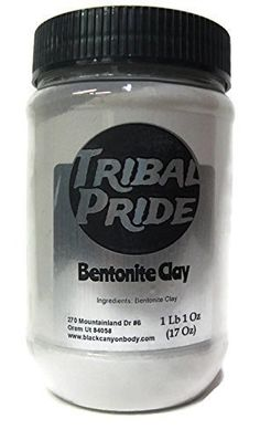 Tribal Pride Bentonite Clay, 17 oz * Check out the image by visiting the link. (This is an affiliate link and I receive a commission for the sales)