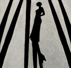 Kalender-Idee: Schattenspiel - Shadow of elegance.