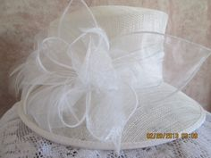 Fine quality Derby or Bridal Hat  Womens by IsabellasHatsandBows, $59.99