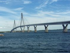 Merenkurkku - Near Vaasa Finland's largest bridge Baltic Sea, West Coast, Finland, Countries, Beautiful Places, Bridge, Traveling, Law School, Viajes