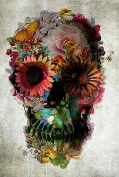 A perfect sugar skull! Tattoo