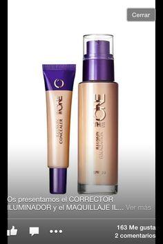 CORRECTOR Y MAQUILLAJE ILUMINADOR THE ONE de ORIFLAME.  Corrector: 8,95€ Maquillaje: 11,95€  ACTUALMENTE EN NUESTRO CATALOGO. Informate en: www.cosmeticanaturaloriflametgn.blogspot.com.es