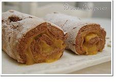 Tortinhas de canela com doce de ovos - http://www.sobremesasdeportugal.pt/tortinhas-de-canela-com-doce-de-ovos/