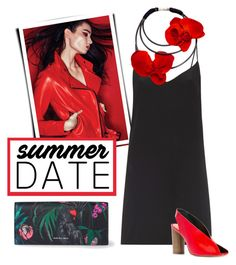 """SUMMER DATE NIGHT"" by groove-muffin ❤ liked on Polyvore featuring PS Paul Smith, Raey and Isabel Marant"