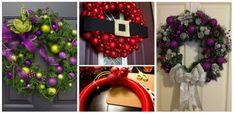 Cum confectionam o coronita din globuri colorate – 21 de idei neaparat de incercat Ornament Wreath, Ornaments, Christmas Wreaths, Textile, Holiday Decor, Usa, Home Decor, Christmas Table Centerpieces, Christmas Tables