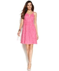 Pink summer dress from Macy's