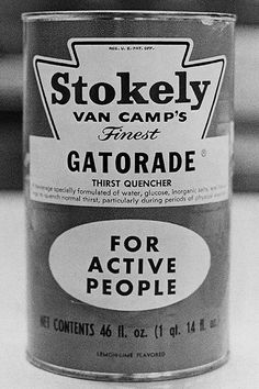 1965 Gatorade Packaging in Vintage Packaging