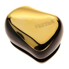 My hair's best friend as it doesn't pull them off. Also looks stylish and elegant in my bag, easy to use on the go. Tangle Teezer Compact Styler Instant Detangling Hairbrush - Metallic Gold Rush #HairToFallFor