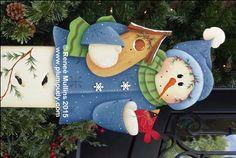 #633  Snowman Porch Greeter (PATTERN)