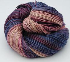Gradient Yarn, Baby Camel / Silk , 99gr by yarnandfibre on Etsy