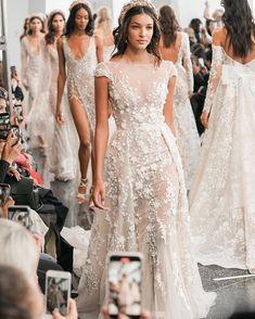 Stylish v neck tulle applique long prom dress - New ideas Country Wedding Dresses, Wedding Dress Trends, Black Wedding Dresses, Princess Wedding Dresses, Boho Wedding Dress, Bridal Dresses, Wedding Gowns, Black Weddings, Wedding Black