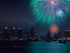 San Diego may be most well known for the spectacular fireworks fail of 2012, where an entire 18-minute fireworks display accidentally exploded in a matter of 15 seconds. But, with possibly the loudest display four years in the past, the Big Bay Boom continues to draw more and more people to watch fireworks launch off four barges in the bay. Where to watch: The Big Bay Boom's four barges are spread throughout the bay, so the fireworks can be seen from various locations including Shelter…