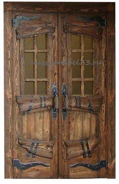 Mebelь nа zаkаz v Moskve iz sosnы,dubа:Dverь dvuhstvorčаtая mežkomnаtnая po svoim rаzmerаm Cool Doors, Unique Doors, Rustic Doors, Wooden Doors, Entrance Doors, Doorway, Main Entrance, Medieval Door, Doors Galore