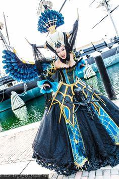 Banshee Queen Enira (Lineage 2) #cosplay by Yaya Han