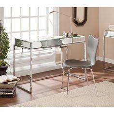 Southern Enterprises Dana Mirrored Desk with Drawer in Ch... https://www.amazon.com/dp/B00OCUZY14/ref=cm_sw_r_pi_dp_x_HLQEybNRBQQPN