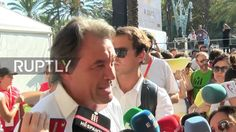 Spain: Thousands descend on Barcelona calling for Catalan independence