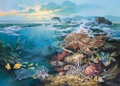 We offer for sale a large selection of Tropical Fish wall mural wallpaper murals, wall murals and photo murals in all sizes. Plus tips on wall mural installation. Sea Life Art, Photo Mural, Life Drawing, Tropical Fish, Wall Murals, Amazing Art, Scenery, Ocean, Wallpaper