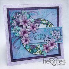 Lavender Poinsettias Christmas