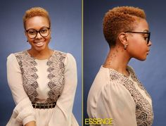 .The ever so stylish Chrisette Michelle