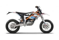 2015 KTM Freeride E SM Electric Supermoto - could be a killer city bike for whipping through trafic!