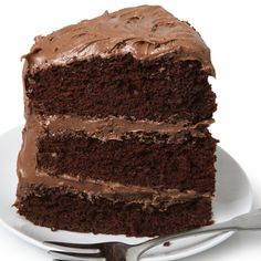 Make this from scratch simple yet moist chocolate cake with creamy chocolate butter frosting for someone you love!