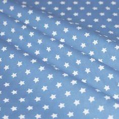 Sternenstoff Hell Blau 9 mm