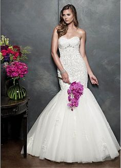 FTW Bridal Wedding Dresses Wedding Dresses Online, Wedding Dress Plus Size, Collection features dresses in all styles as well as more traditional silhouettes. Customize your bridal gown now! Wedding Dress With Veil, Wedding Dresses Photos, Wedding Dresses Plus Size, Event Dresses, Bridal Wedding Dresses, Cheap Wedding Dress, Wedding Dress Styles, Bridal Style, Lace Wedding