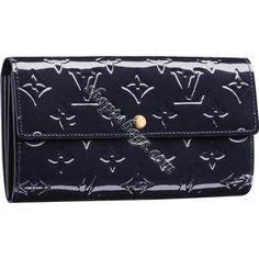 Louis Vuitton Monogram Vernis Sarah Wallet M91464