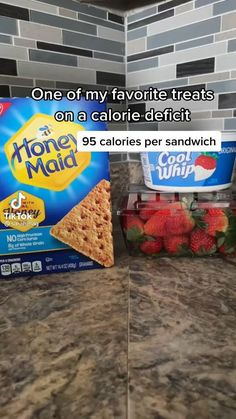 Fun Baking Recipes, Sweets Recipes, Snack Recipes, Cooking Recipes, Healthy Sweets, Healthy Snacks, Snacks Saludables, Healthy Meal Prep, Low Calorie Recipes