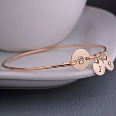 Gold Paw Bracelet | Gifts For Animal Lovers, Pets
