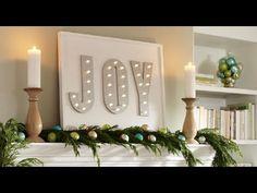Decorativo árbol de Navidad luminoso - YouTube