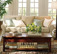 Pottery Barn and Walmart Slipcovered Couches
