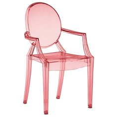 Baby Anime Transparent Red Childrens Chair Set of 2 from Layla Grayce