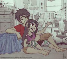 Vanellope & Hiro. SHIP!