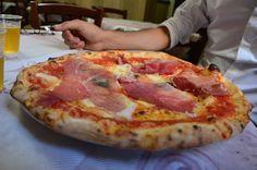 Naples-style pizza