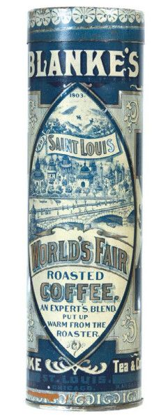 Blanke's Coffee Tin | Antique Advertising Value and Price Guide